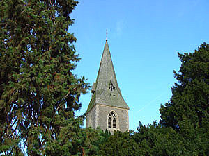 Image of Church spire