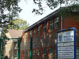 The Willink School - a image of the school sign