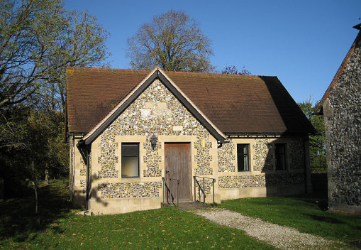 Exterior image of the parish room